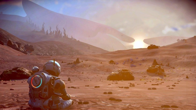 No Man's Sky Next desert